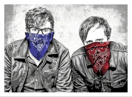 Serigrafía Mr Brainwash - The Black Keys