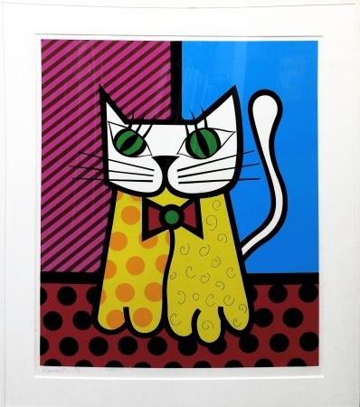 Serigrafía Britto - THE CAT