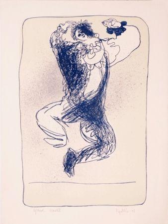 Litografía Ripolles - The Clown
