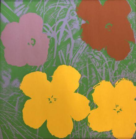 Serigrafía Warhol - The Flowers