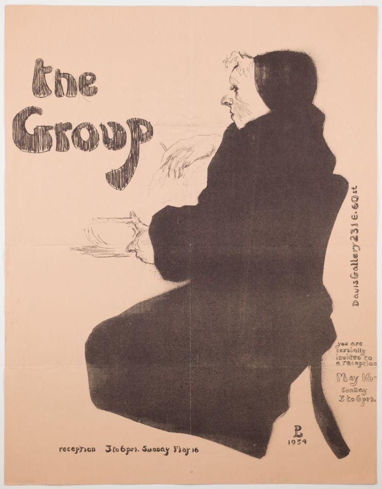 Litografía Levine - The Group
