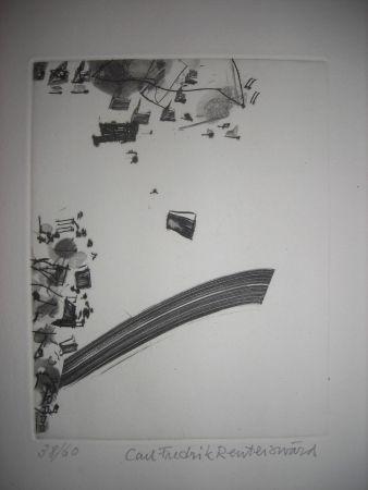 Aguafuerte Y Aguatinta Reuterswaerd - The international avant garde 2