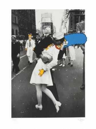 Serigrafía Jago - The Kiss