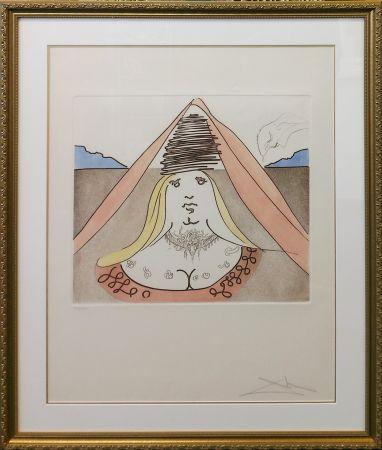 Aguafuerte Y Aguatinta Dali - THE LADY DULCINEA