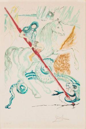 Litografía Dali - The Lance Of Chivalry