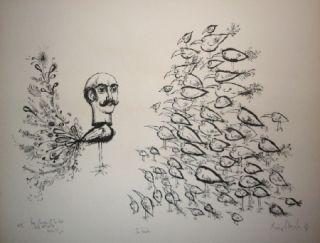 Litografía Scharf - The leader
