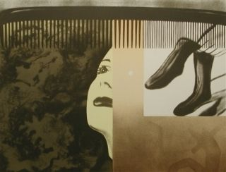 Litografía Rosenquist - The light that won't fail i