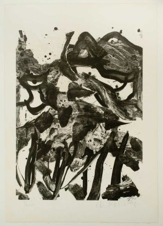 Litografía De Kooning - The Marshes