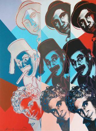 Serigrafía Warhol - THE MARX BROTHERS FS II.232