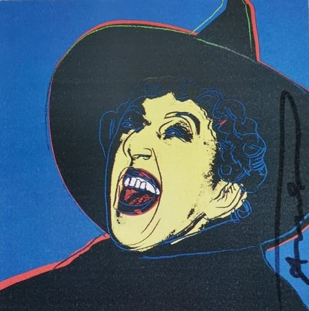Serigrafía Warhol - The Mitch