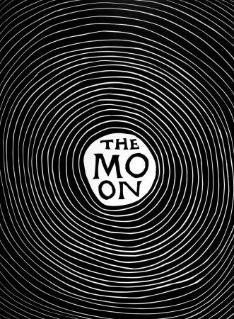Linograbado Shrigley - The Moon
