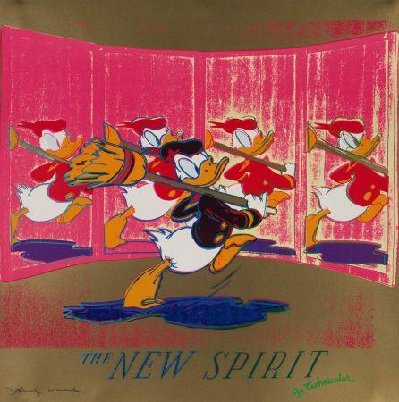 Serigrafía Warhol - The New Spirit (FS II.357)