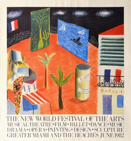 Sin Técnico Hockney - The New World Festival of the Arts, Miami