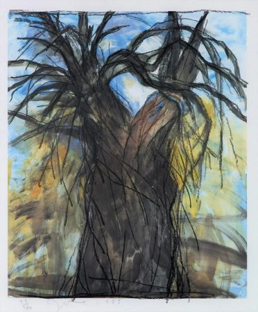 Litografía Dine - The New Year's Tree