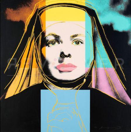 Serigrafía Warhol - The Nun, Ingrid Bergman (FS II.314)