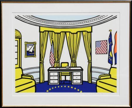 Serigrafía Lichtenstein - The Oval Office