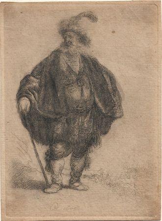 Grabado Rembrandt - The Persian