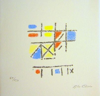 Litografía Bille - The Pictorial Image