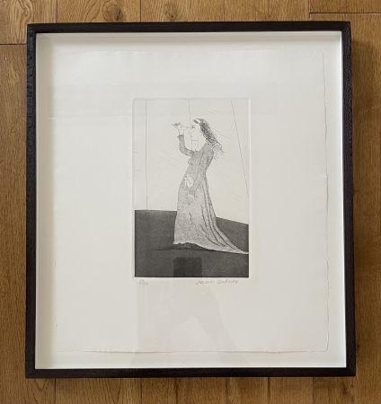 Aguafuerte Y Aguatinta Hockney -  The Princess Searching