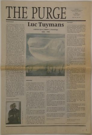 Libro Ilustrado Tuymans - The Purge – schilderijen / Bilder / Paintings 1991 - 1998