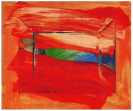 Serigrafía Hodgkin - The Sky's the Limit, 2003