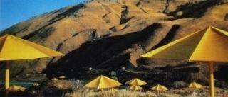 Múltiple Christo - The Umbrellas, Japan-USA, 1984-91, California, USA Site
