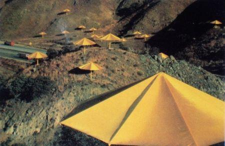 Múltiple Christo - The Umbrellas, Japon-USA, 1984-91, California, USA Site