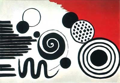 Litografía Calder - The Way To The Word