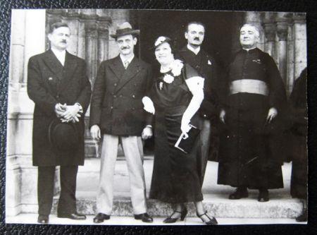 Fotografía Utrillo - The wedding of Maurice Utrillo and Lucie Valore