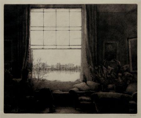 Grabado Fridell - The Window, Wauxhall, London