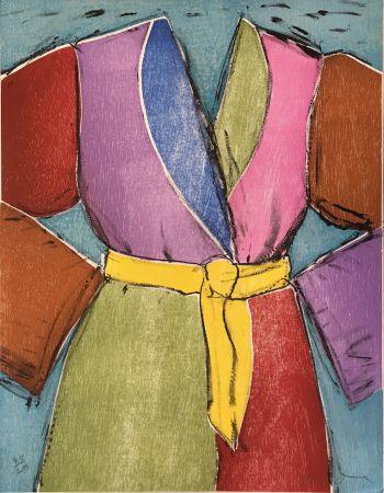 Grabado En Madera Dine - The Yellow Belt