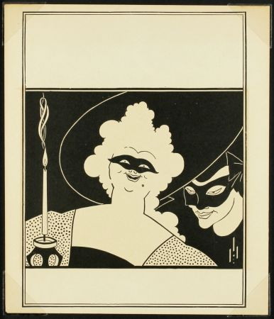 Relieve Beardsley - The Yellow Book