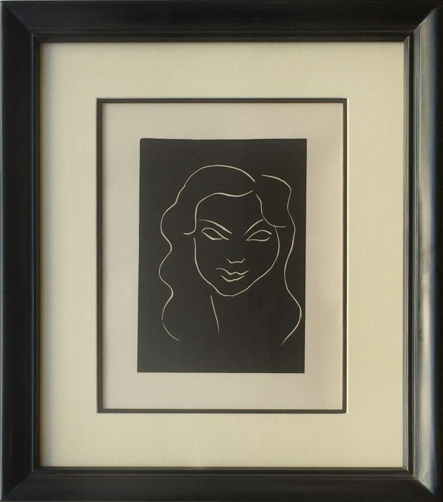Linograbado Matisse - Themes et Variations - Frontispiece