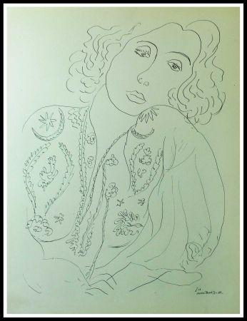 Litografía Matisse (After) - THEMES & VARIATIONS I