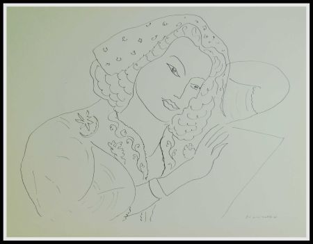 Litografía Matisse (After) - THEMES & VARIATIONS III