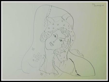 Litografía Matisse (After) - THEMES & VARIATIONS IV