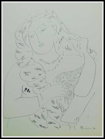 Litografía Matisse (After) - THEMES & VARIATIONS VI