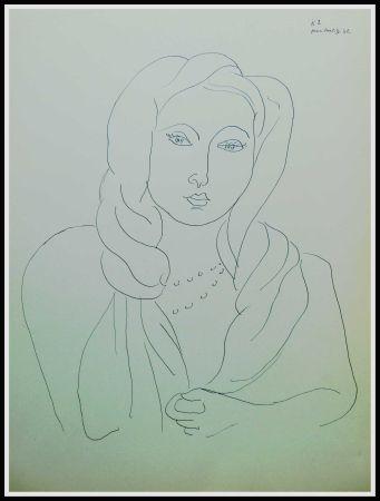 Litografía Matisse (After) - THEMES & VARIATIONS VII