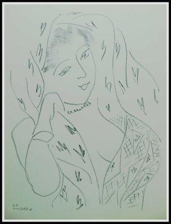 Litografía Matisse (After) - THEMES & VARIATIONS VIII