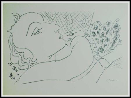 Litografía Matisse (After) - THEMES & VARIATIONS X