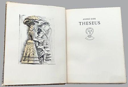 Libro Ilustrado Campigli - Theseus