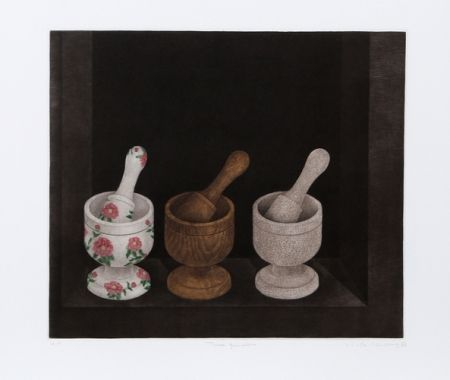 Manera Negra Hwang - Three Mortars and Pestle