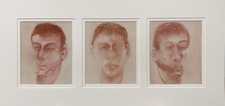 Litografía Bacon - Three studies for a portrait of John Edwards