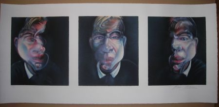 Litografía Bacon - Three studies for a Self-Portrait