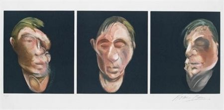 Litografía Bacon - Three Studies for a Self Portrait