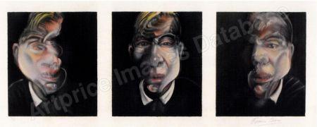 Litografía Bacon - Three Studies for a Selfportrait