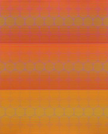 Serigrafía Stanczak - Three to Compare, from Twelve Progressions