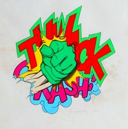 Litografía Matos - Thwack