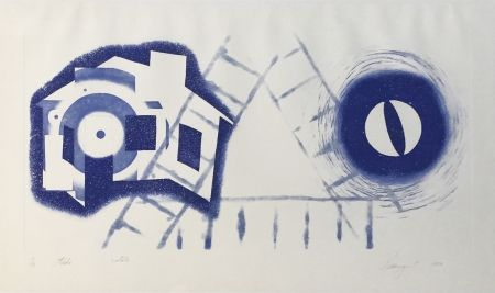 Grabado Rosenquist - TIDE (State 2)