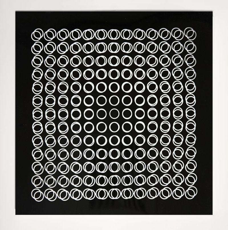 Serigrafía Vasarely - '' TIEFENBILDER ''